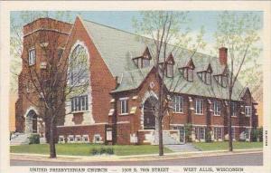 Wisconsin West Allis United Presbytrian Church 1509 South 76th Street