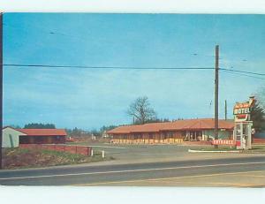 Unused Pre-1980 RED TOP LODGE MOTEL Vancouver Washington WA n8332