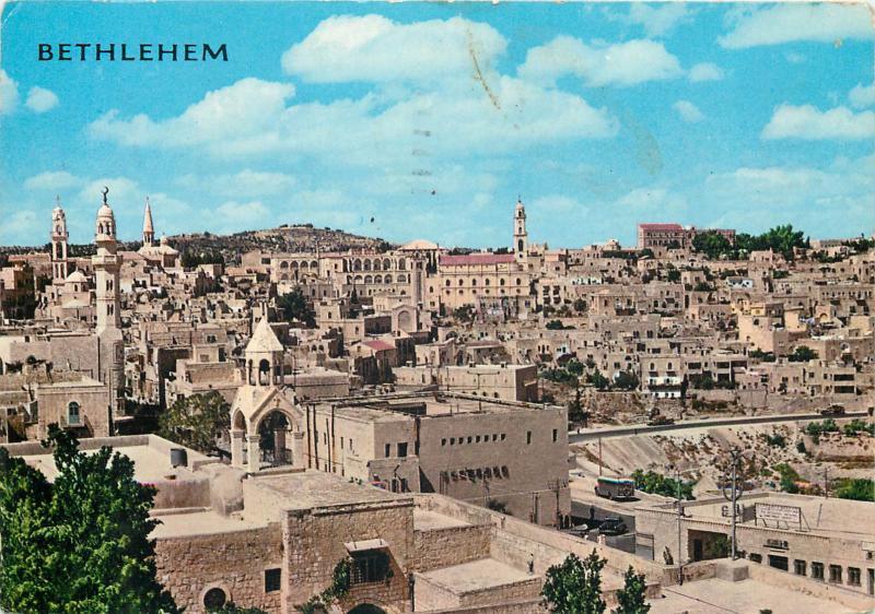 Israel Bethlehem 1970 partial view