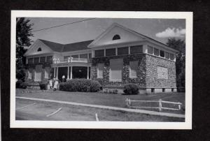 NH Morse Museum Warren New Hampshire Postcard RPPC, Real Photo PC