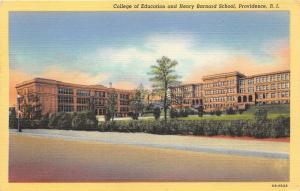 Providence Rhode Island~Henry Barnard School & College of Education~1940 Pc