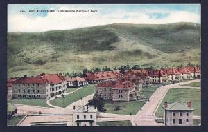 Fort Yellowstone National Park Wyoming unused c1910's