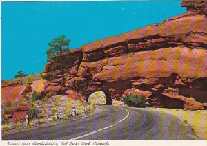 Colorado Red Rocks Park Tunnel Near Amphitheatre
