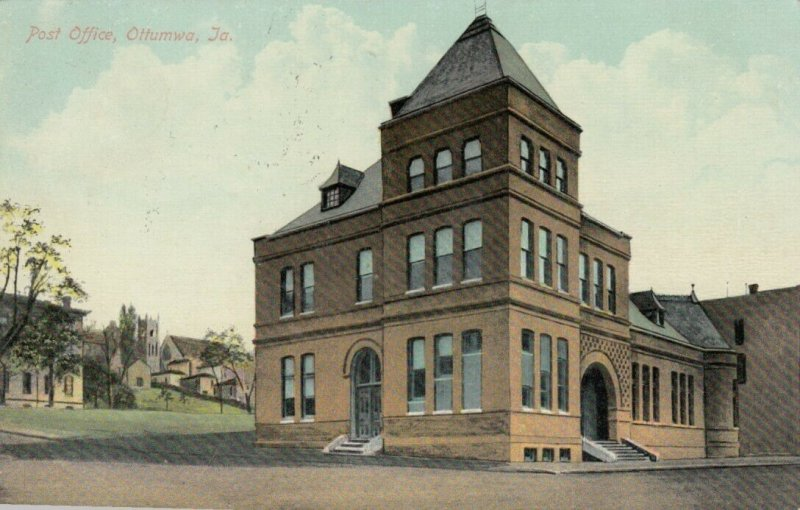 OTTUMWA , Iowa , 1909 ; Post Office