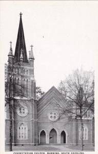 MANNING , South Carolina , 1910s , Presbyterian Church