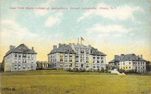 Ithica-Cornell University NY Three Similar Bldgs of Agricultural College~C1908