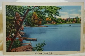 Roxton Falls Quebec Canada Vintage Postcard