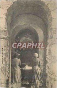 Postcard Old Saint Philbert de Grand Lieu