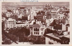 Morocco Casablanca Panorma de la Ville vue prise des Services Municipaux