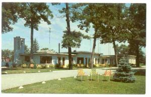 Rinehart Motel, Two Miles East of Dyer, Indiana, 40-60s