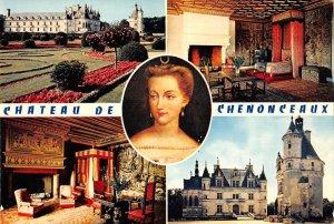 B110483 France Chenonceaux Chambre de Vendome Tour Castle