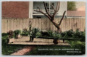 Winchester Virginia~Fort Loudoun~George Washington Well~Dug by Soldiers~c1910