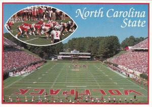 North Carolina Charlotte Exciting North Carolina State Football Entertains St...
