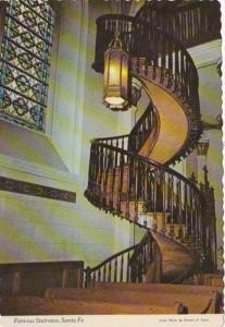 New Mexico Santa Fe Our Lady Of Light Chapel Famous Staircase