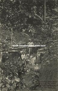suriname, Brokopondo, SARAKREEK, Dien Mersi Gold Mining (1899)