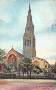 England Leicester, St. Martin's Church, Marcus Ward's Series 1904