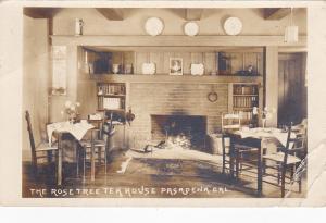 RP: PASADENA , California , 1925 ; Interior, Rose Tea House