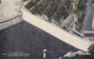 Dix River Dam, near High Bridge and Burgin In Old Kentucky, 30-40s