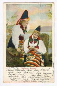 Costume  Dalarne, Rattvik, Sweden, PU-1906  Tarantella, ITALY, 00-10s