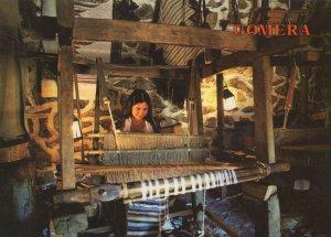 Comera Hermigua The Canary Islands Weaving Looms Postcard