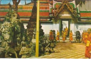 Thailand Bangkok Scenery Of Wat Po