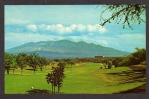 HI Wailea Golf Course KIHEI MAUI HAWAII Postcard PC