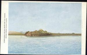 congo, Fetish Rock, Panorama (1920s) Co. Belg. Maritime