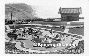 Bernheimer Residence, Japanese Garden - Pacific Palisades, CA