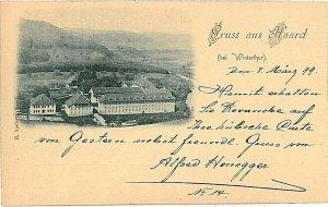 Ansichtskarten Schweiz VINTAGE POSTCARD: SWITZERLAND - GRUSS AUS: HAARD 1899