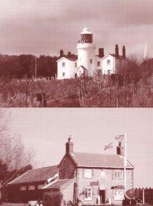 Lowestoft Maritime Museum Lighthouse 2x Rare Postcard s