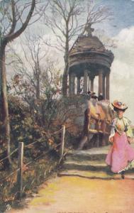 TUCK #7168, 00-10s; VILLE DE PARIS, Les Buttes-Chaumont, Miniature Temple