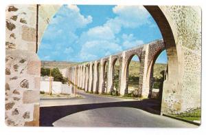 Aqueduct Acueducto Queretaro Mexico
