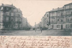 Gruss aus BAYREUTH , Bavaria , Germany , PU-1898 : Der Wilhelmsplatz