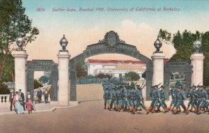 BERKELEY, California , 00-10s ; Sather Gate, University of California