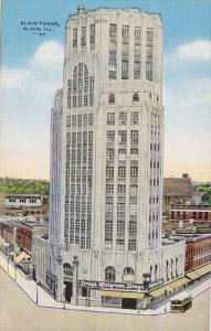 Elgin Tower, Elgin, Illinois, United States, 30s-40s