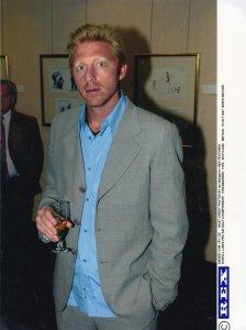 Boris Becker German Tennis Dunhill Links AM Golf Challenge Fife Scotland Pres...