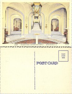Lobby, International Eastern Star Temple, Washington D.C.