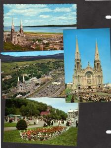 PQ Lot 4 Ste Anne de Beaupre Quebec Canada Carte Postales Religious Postcards