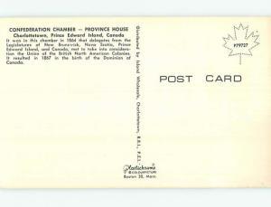 Unused Pre-1980 TOWN VIEW SCENE Charlottetown Prince Edward Island PE p8641