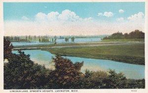 LUDINGTON, Michigan, 1910-1930s; Lincoln Lake, Epworth Heights