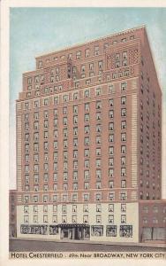 Hotel Chesterfield, New York City, New York, 10-20s