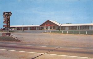 Maple Shade New Jersey~Trav-Lers Motel~Roadside Route 73~1950s Cars~Postcard