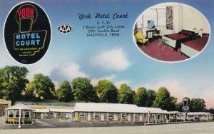 Tennessee Nashville York Hotel Court sk3801