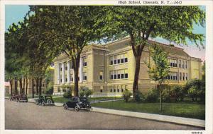 New York Oneonta High School 1947 Curteich