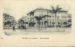 brazil, RIO DE JANEIRO, Ministerio da Industria (1907) Stamp
