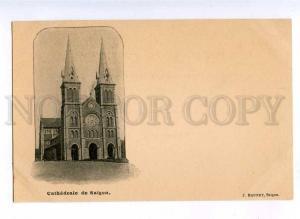 190735 VIETNAM Ho Chi Minh City SAIGON Church Vintage postcard