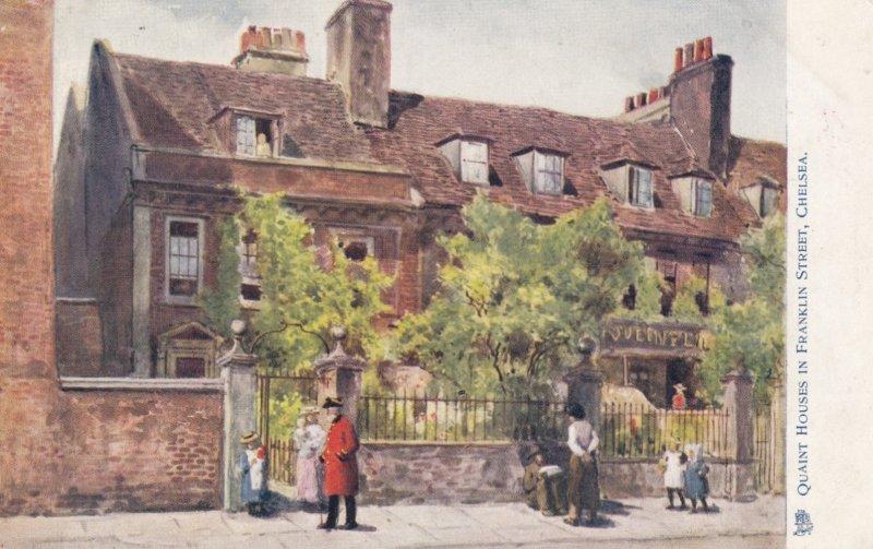 CHELSEA , UK , 00-10s ; TUCK 6170 , Quaint Houses in Franklin Street