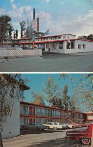 Burns Oregon Ponderosa Motel Multiview Vintage Postcard K57472