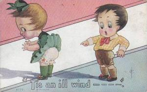 Fred Cavally  American Kid Series  Tis An Ill Wind