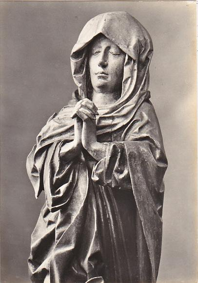 Czech Republic Holy Virgin Below Cross 16th Century Galerie v Praze Photo